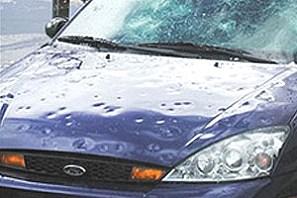 hagelschade auto