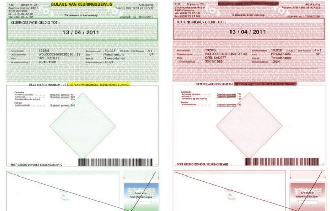 besteautobod-keuringbewijs-groen-rood-goedgekeurd-afgekeurd