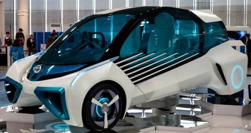 toekomst auto er uit ziet